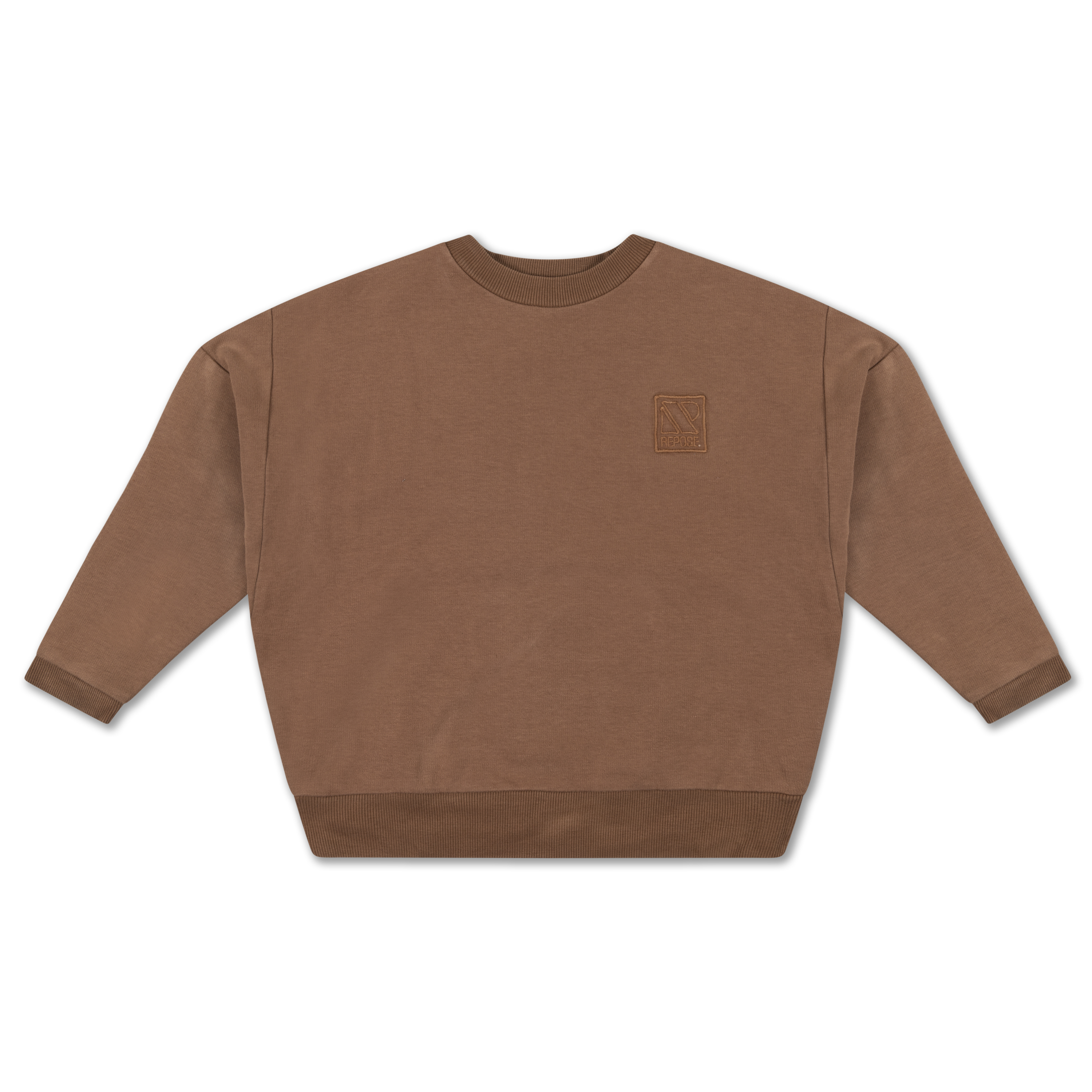 Repose AMS - Crewneck Sweater chocolate brown