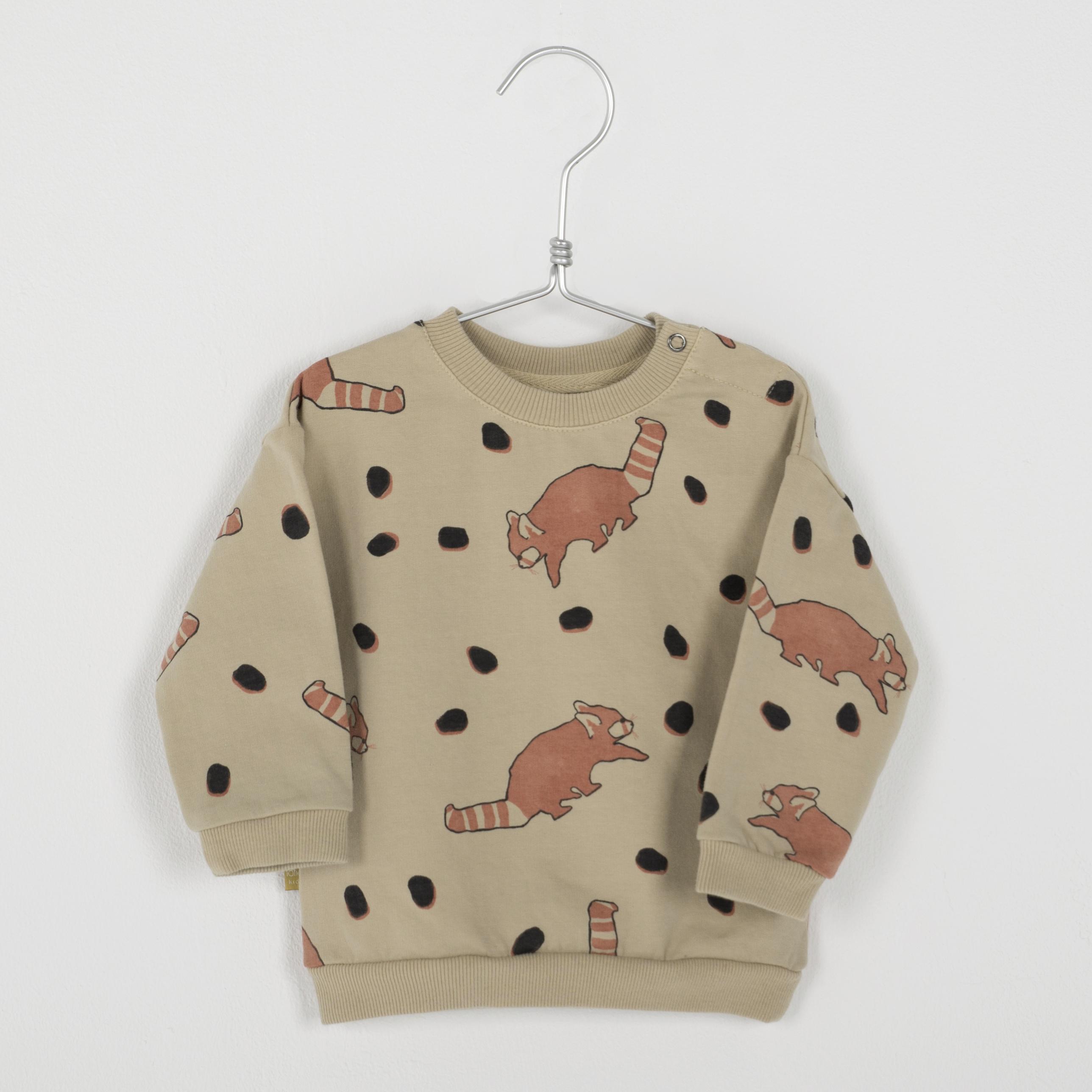 Lötiekids - Baby Sweatshirt Red Pandas