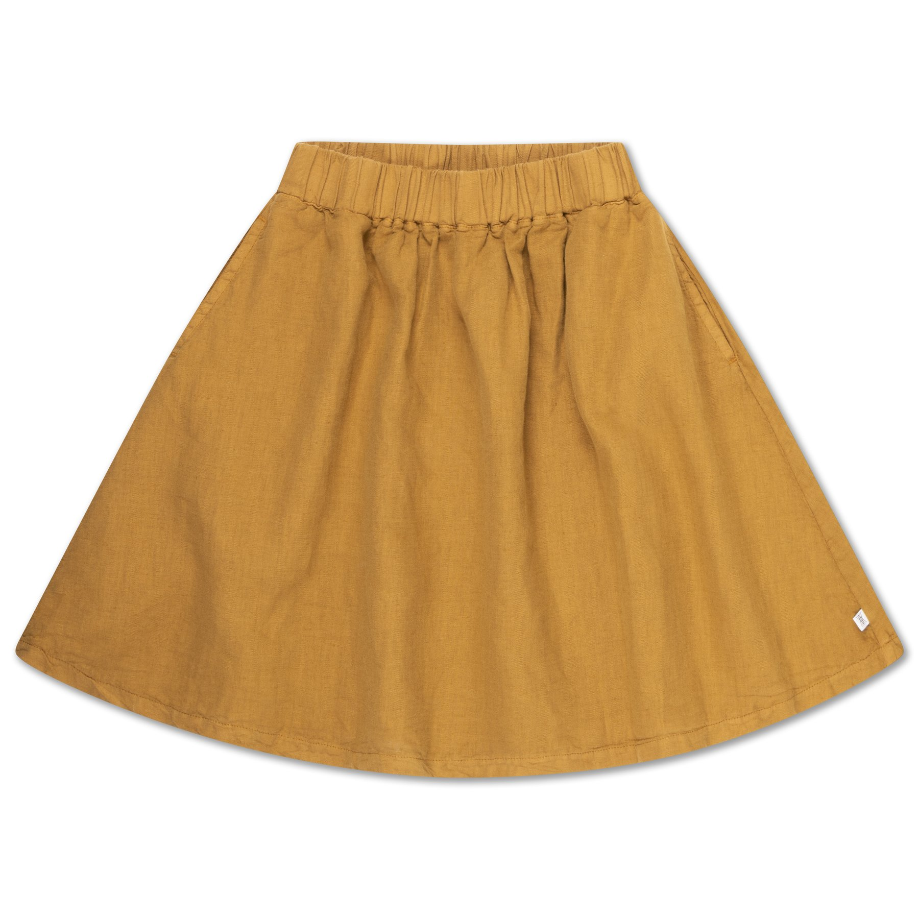Repose AMS - Midi Skirt Khaki Brown