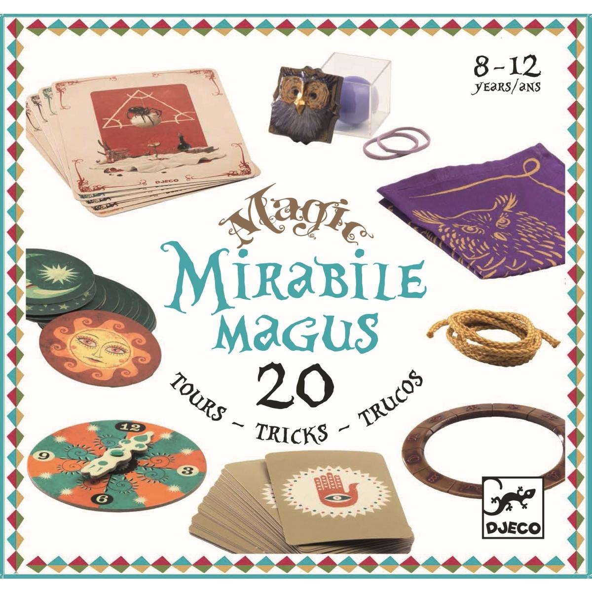 Djeco - Zauberkasten Mirabile magus