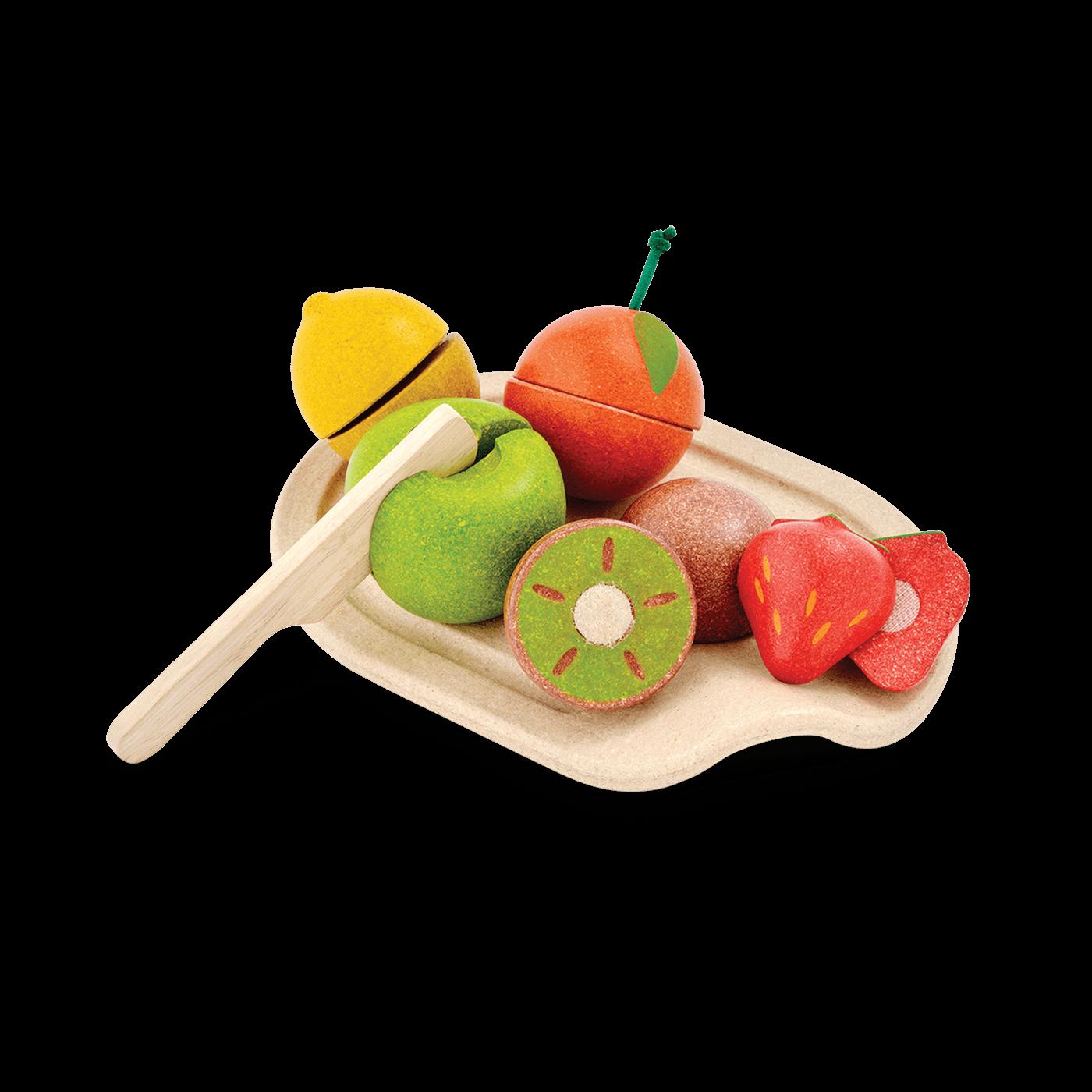 PlanToys – Obst zum Schneiden