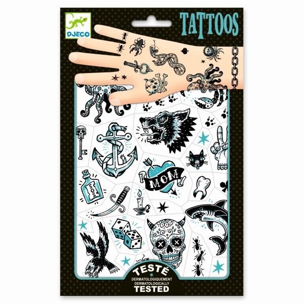 Djeco - Tattoos Dark Side