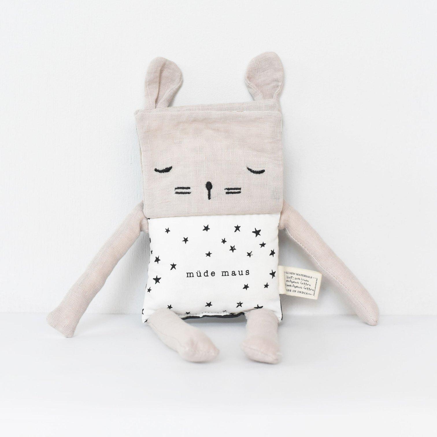 Wee Gallery - Flippy Friend Maus