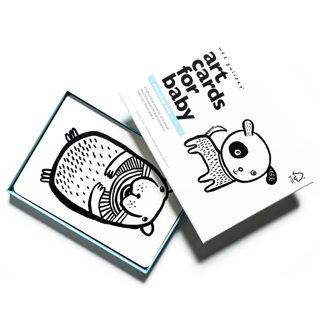 Wee Gallery - Art Cards Pets