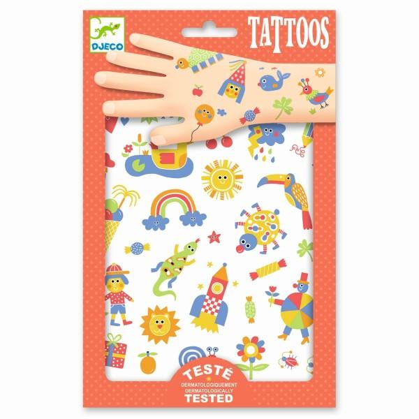 Djeco - Tattoos So Cute