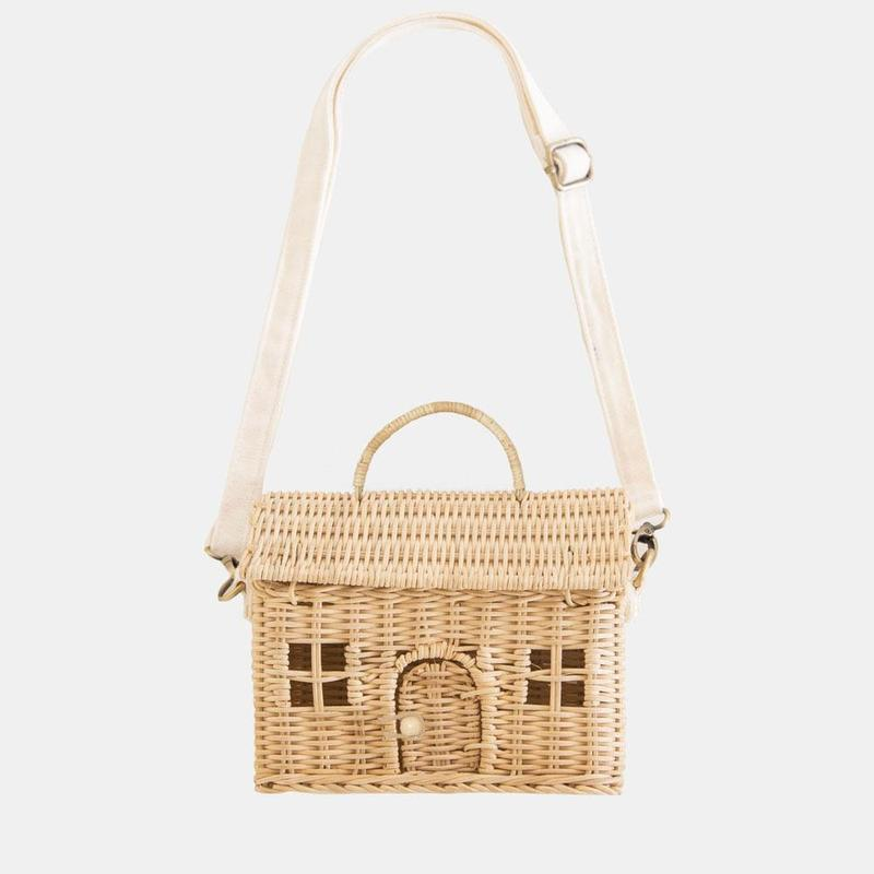 Olli Ella - Rattan Casa Bag Straw
