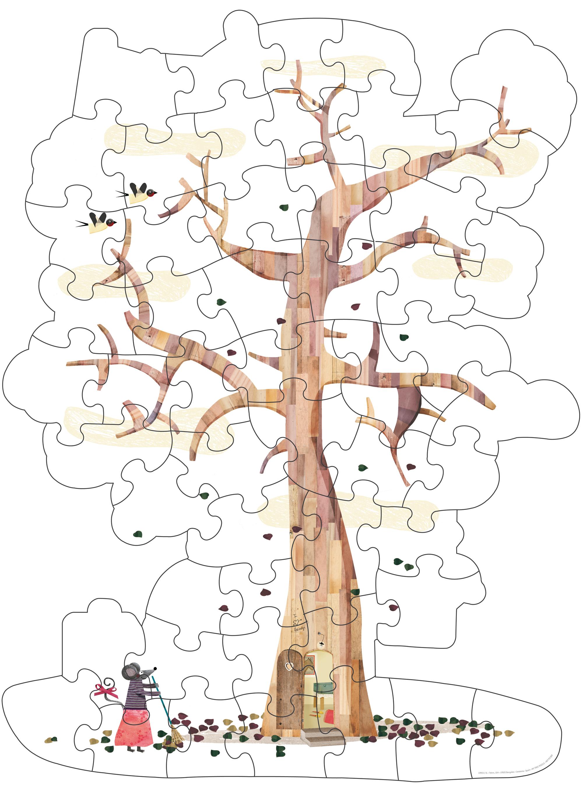 Londji - My Tree Puzzle