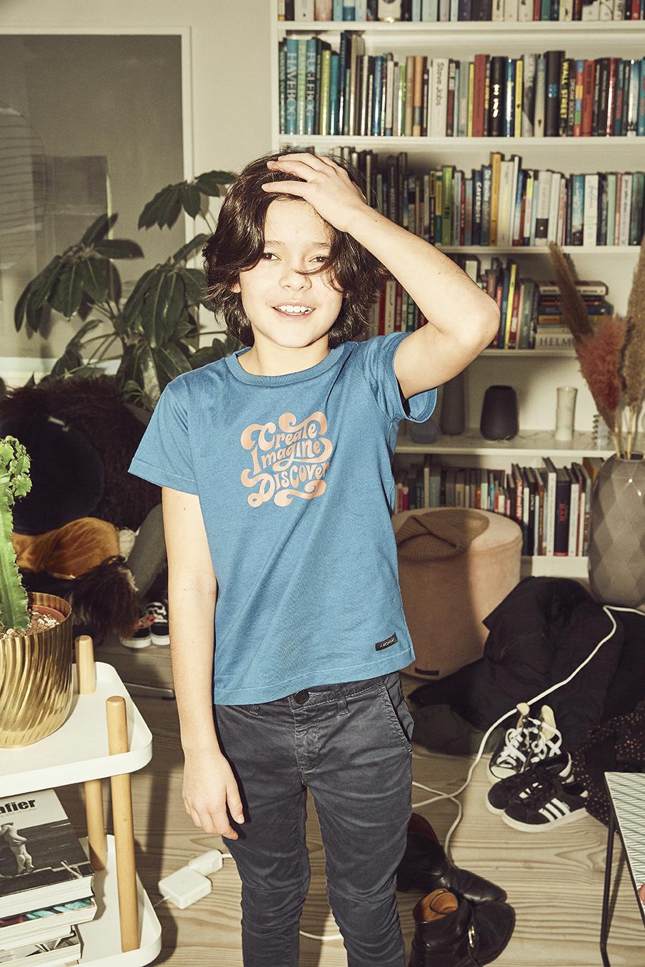 A Monday in Copenhagen - Discover T-Shirt True Blue
