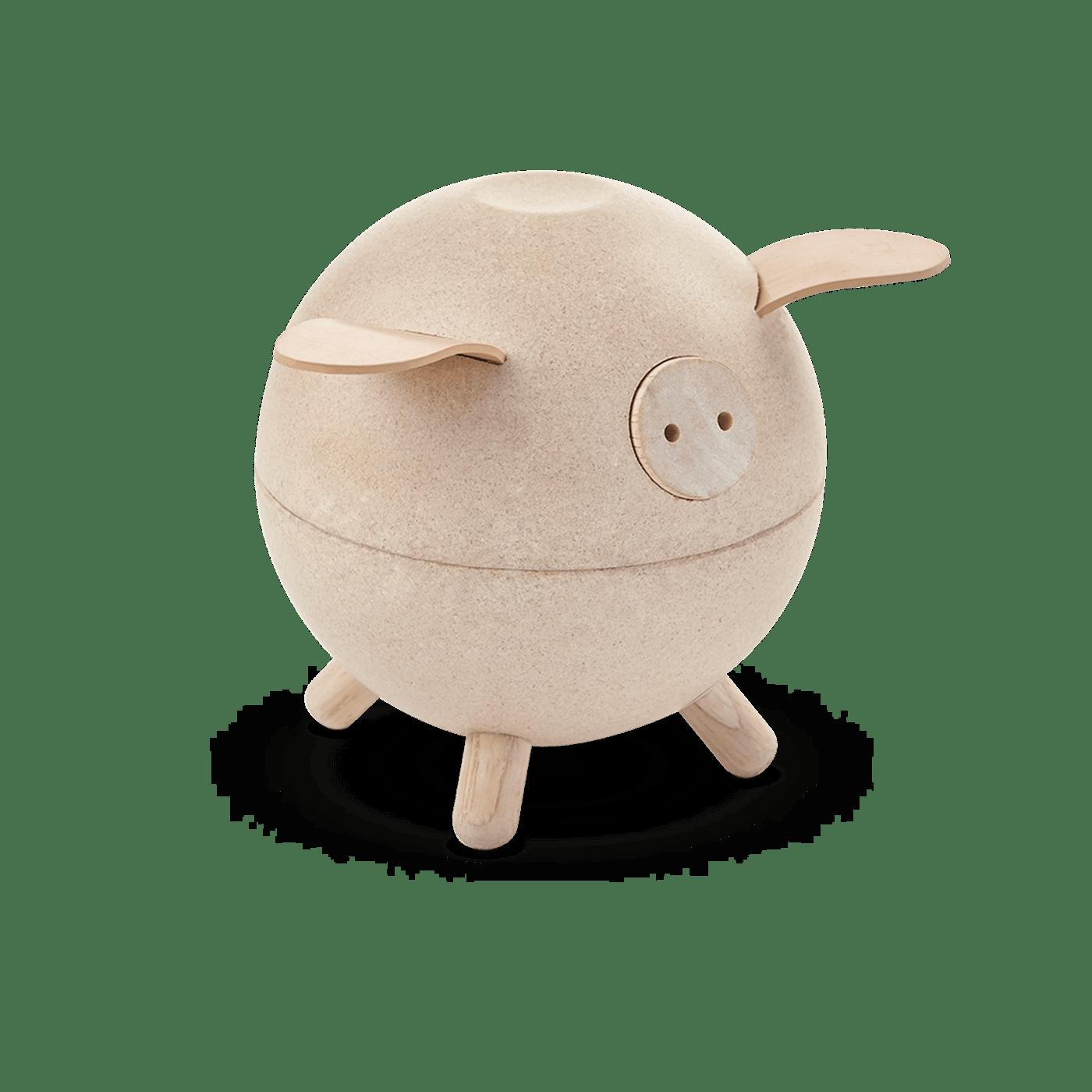 PlanToys - Piggy Bank Spardose natur