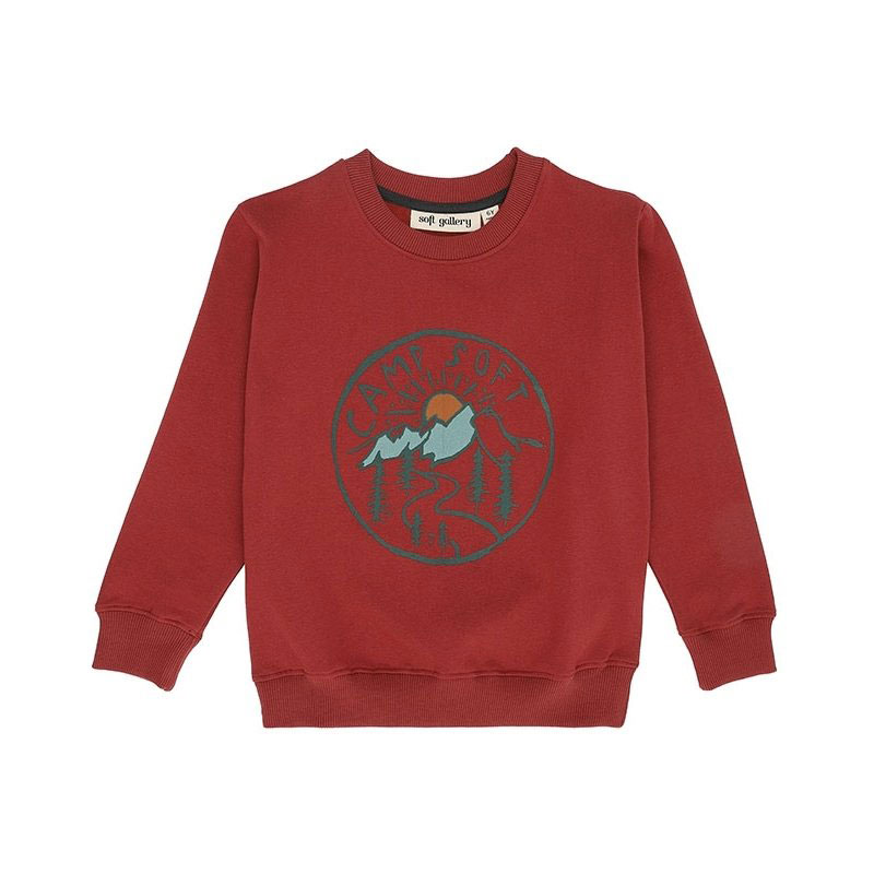 Soft Gallery - Baptiste Sweatshirt Camp Soft
