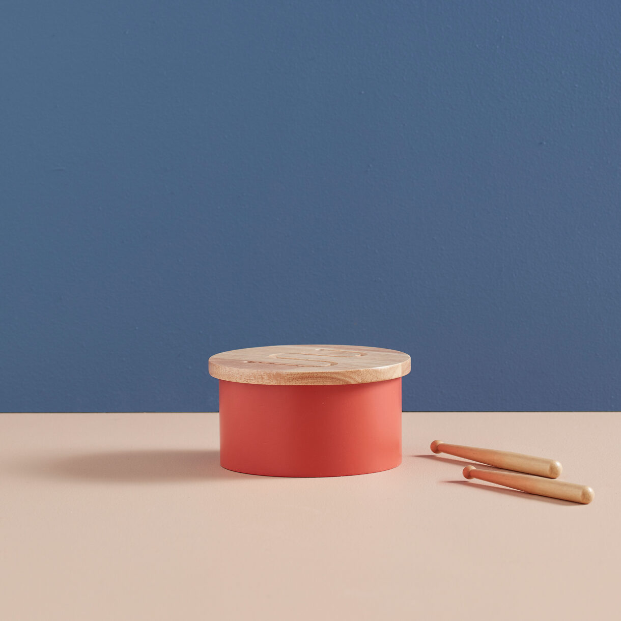 kids concept - Mini Trommel rot