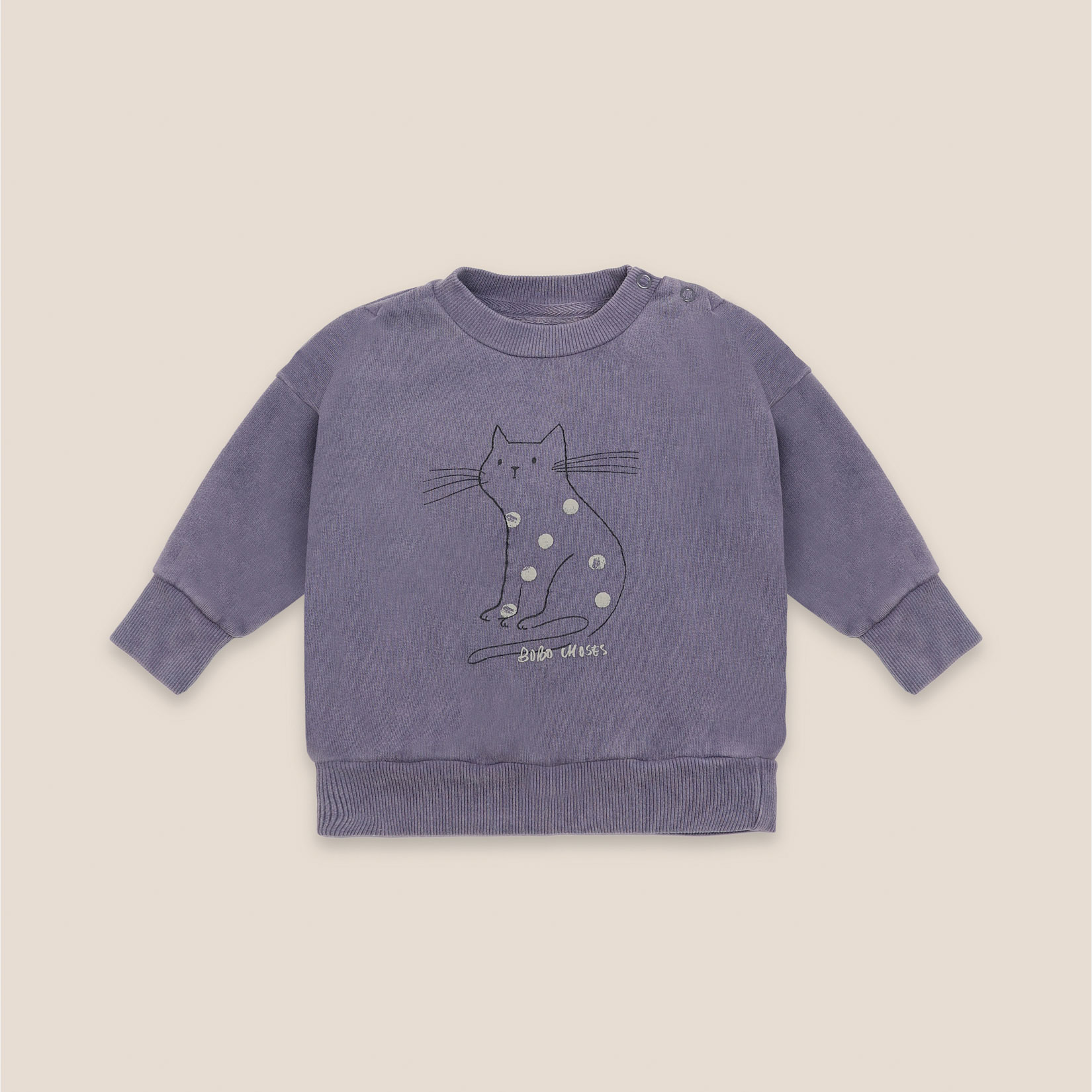 Bobo Choses - Baby Cat Sweatshirt