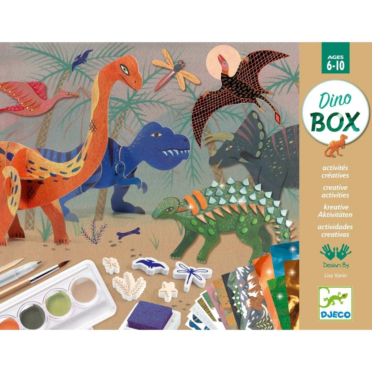 Djeco - Dino Kreativ Box