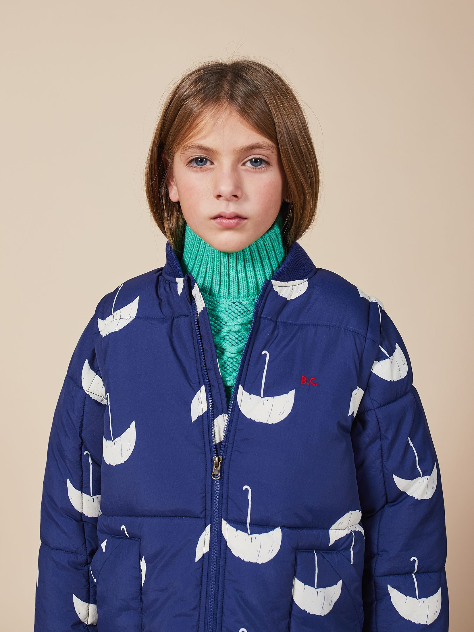Bobo Choses - Umbrella All Over Padded Jacket