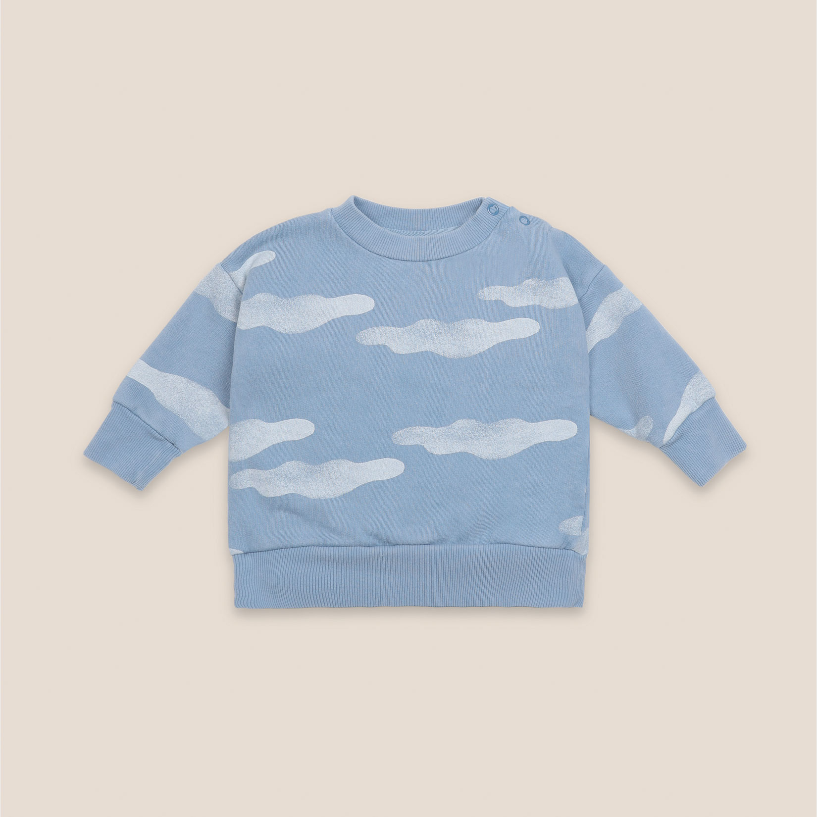 Bobo Choses - Baby Clouds All Over Sweatshirt