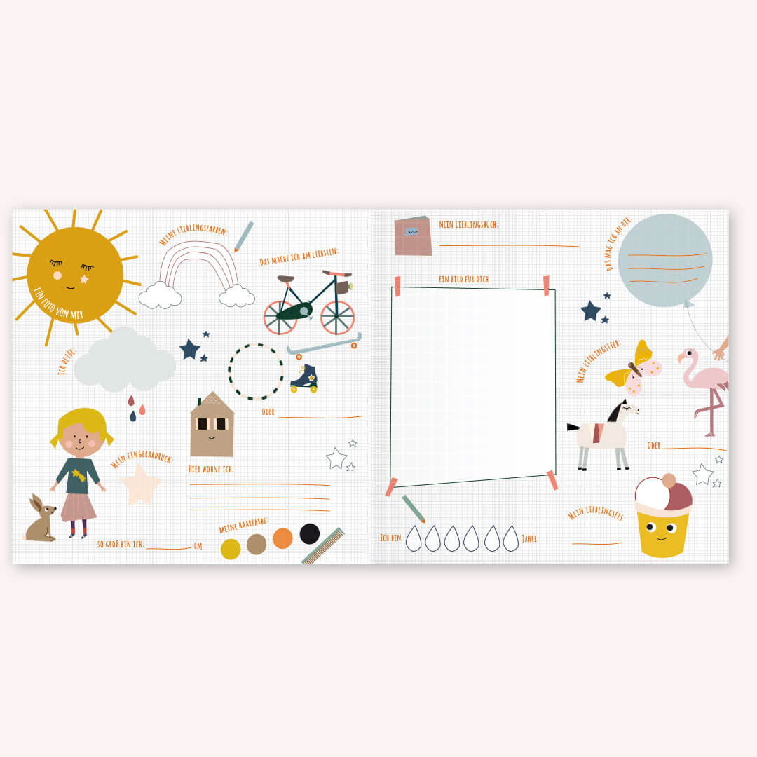 Life is delicious - Freundebuch Kindergarten