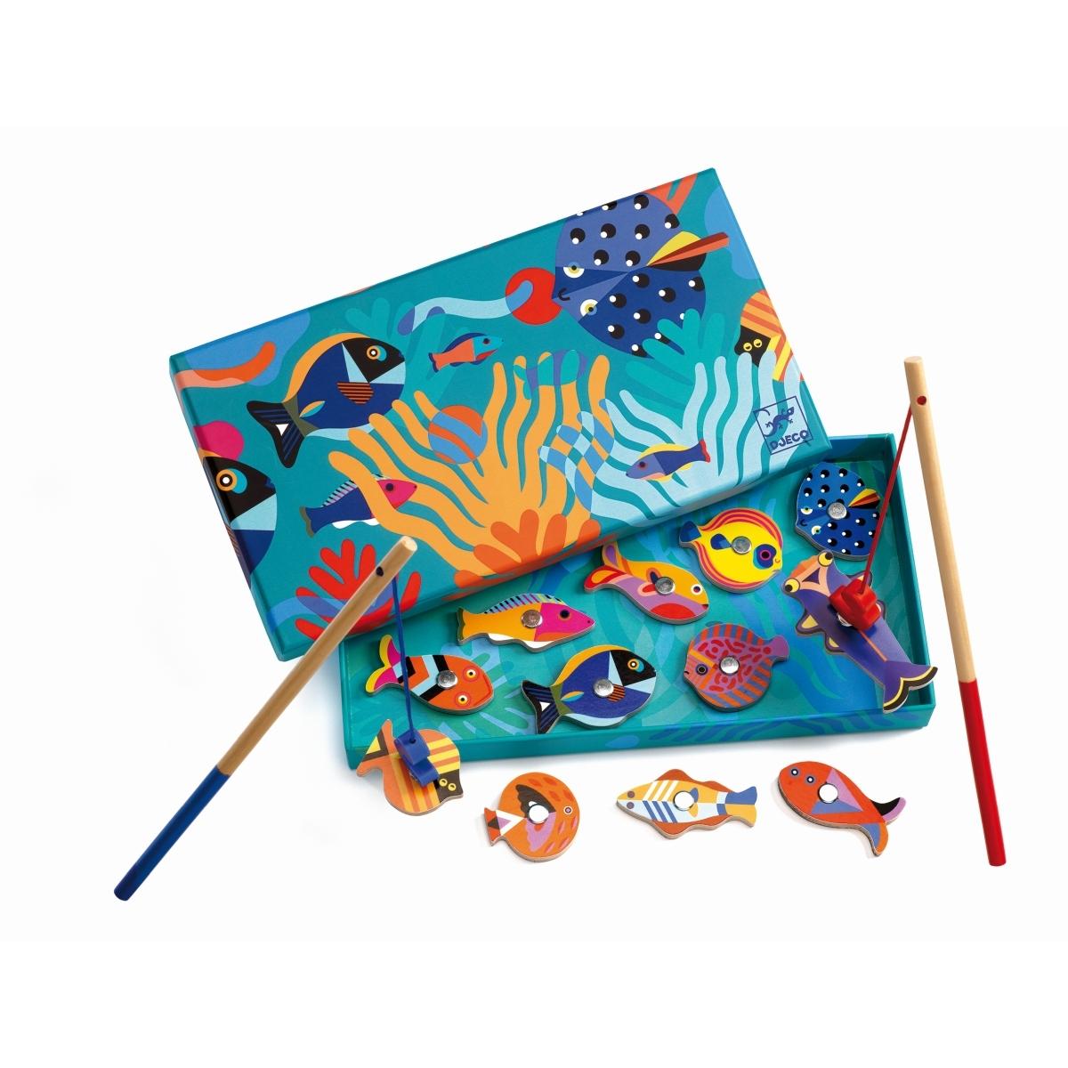 Djeco - Angelspiel Grafische Fische