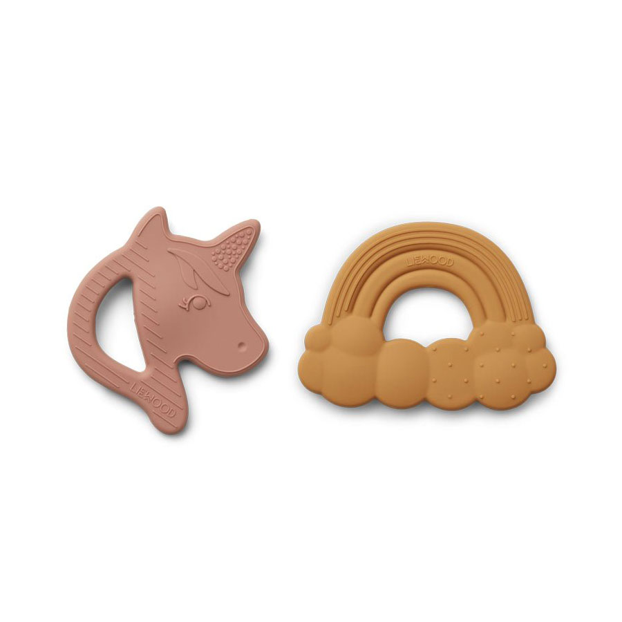 Liewood - Roxie Silicone Teether 2er Pack