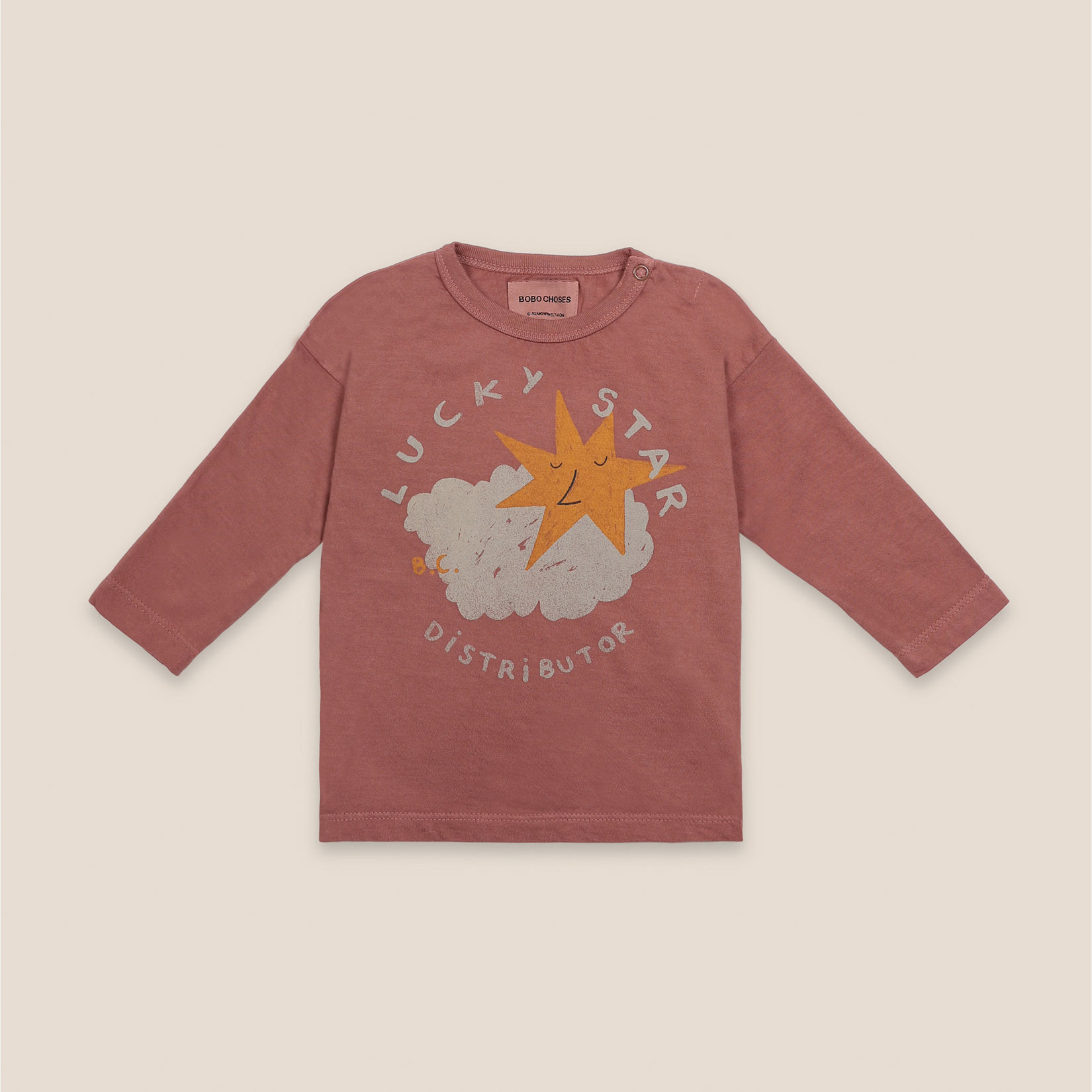 Bobo Choses - Baby Lucky Star Long Sleeve T-Shirt