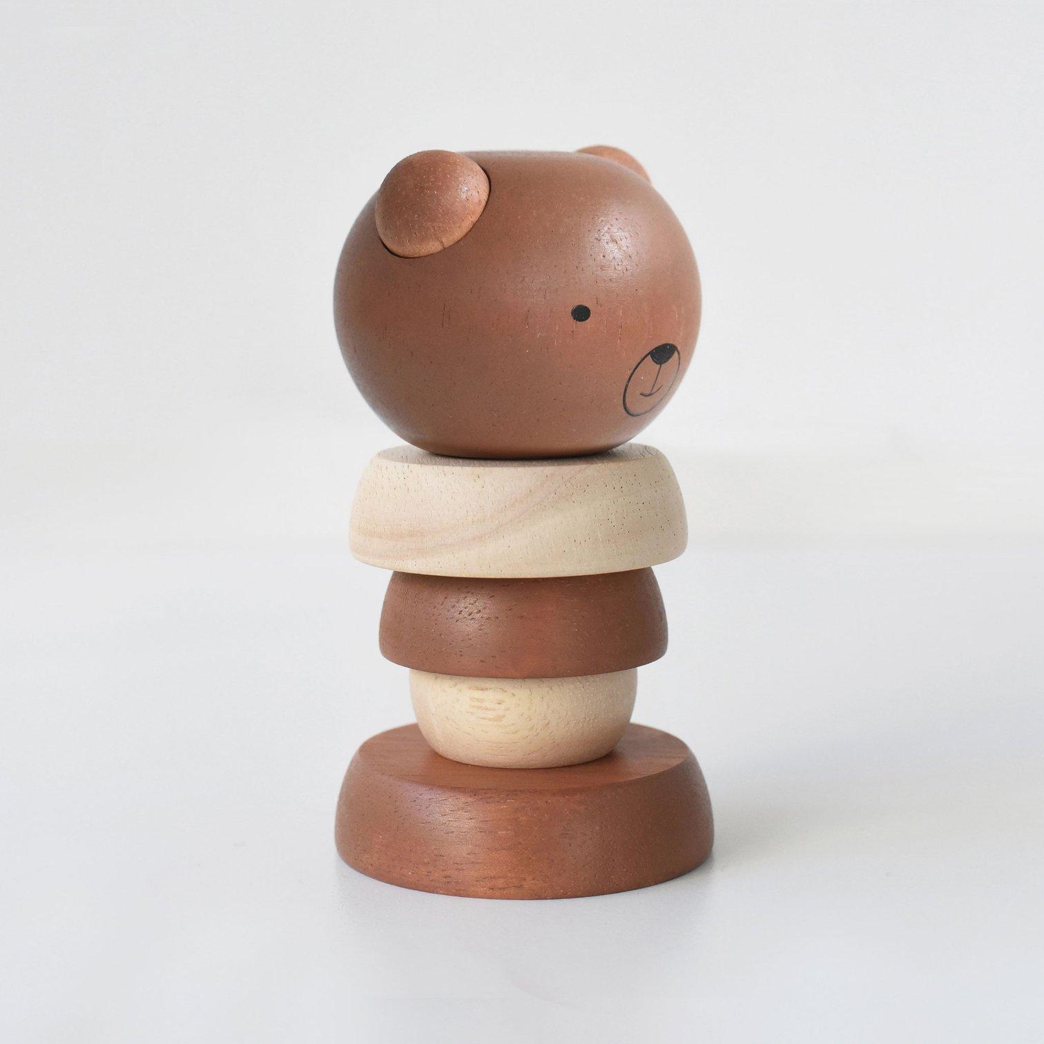 Wee Gallery - Steckspiel Bär