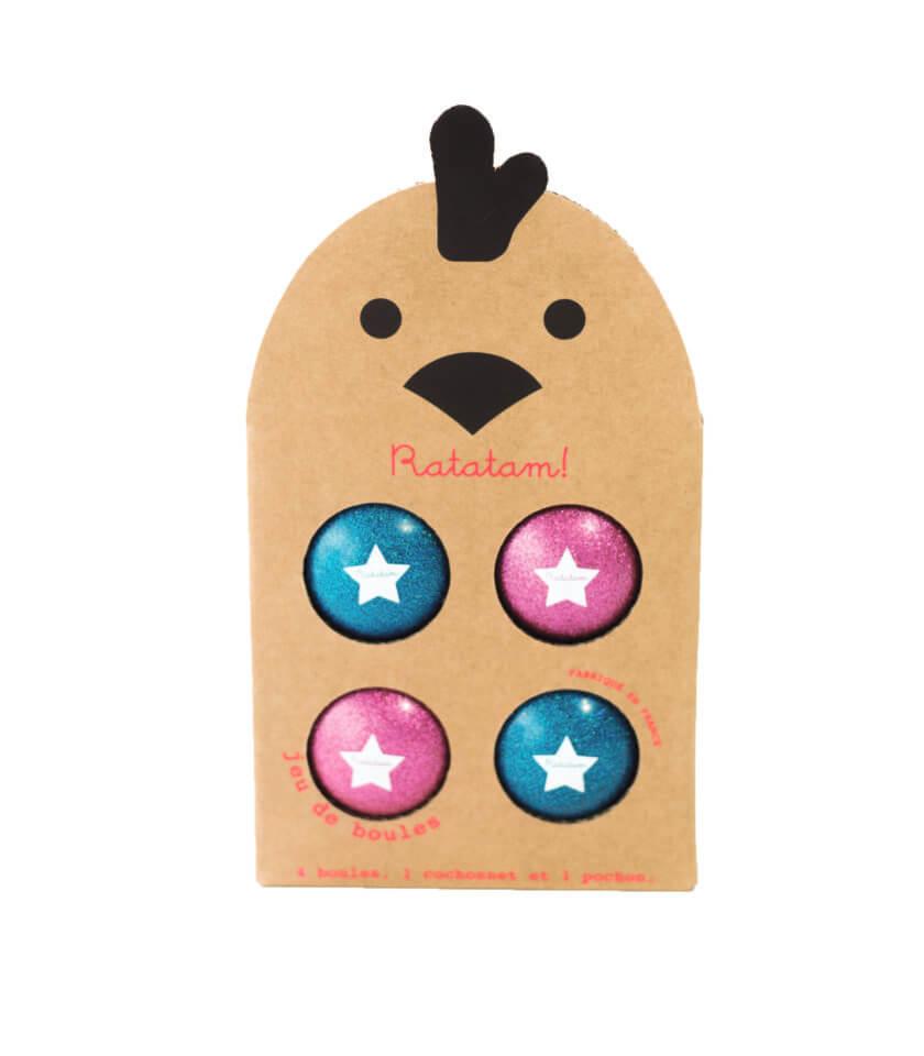 Ratatam - Boule Spiel pink/blau