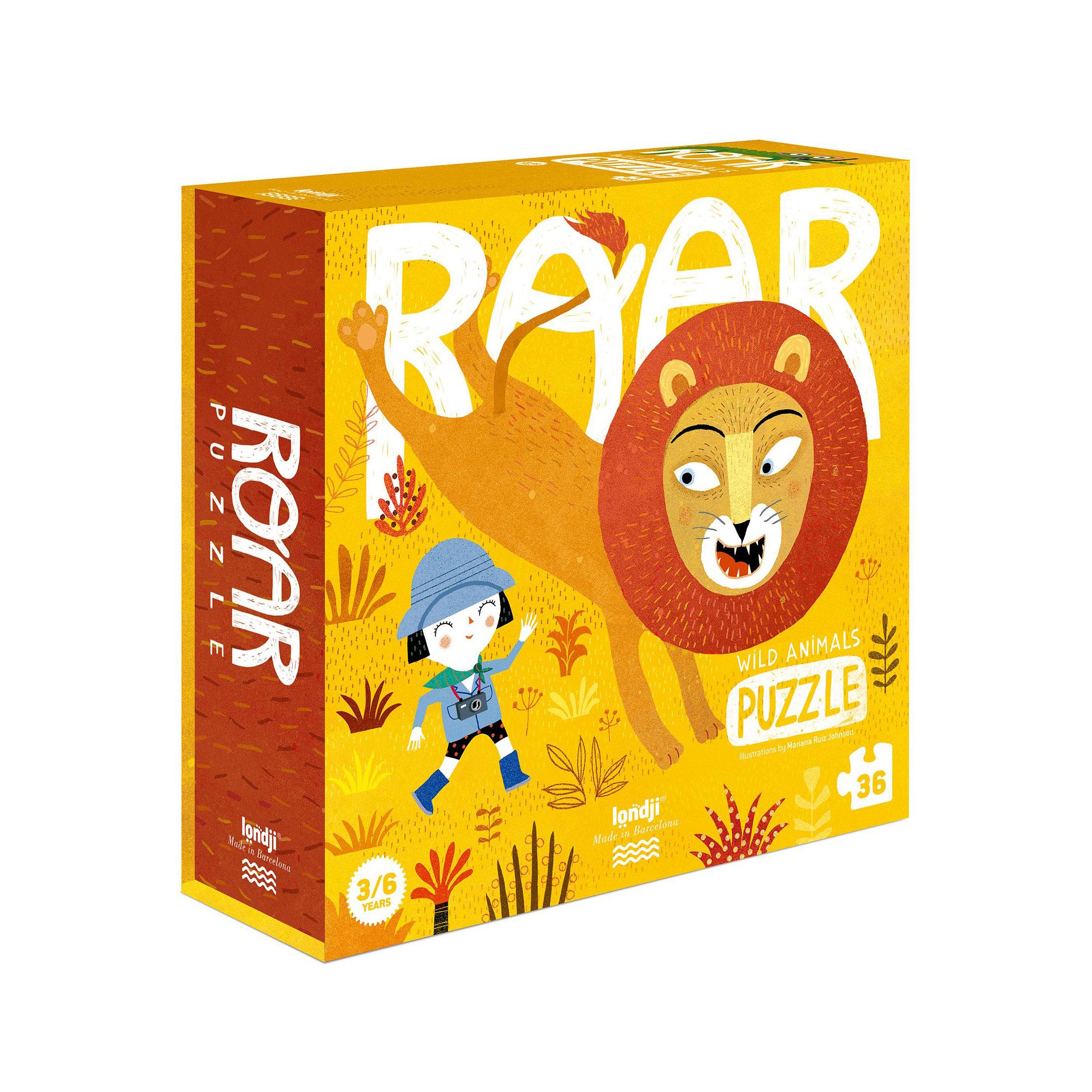 Londji - Roar Puzzle