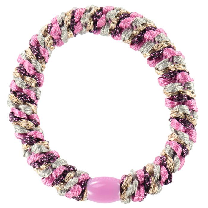 Kknekki - Haargummi Mix Pink Glitter