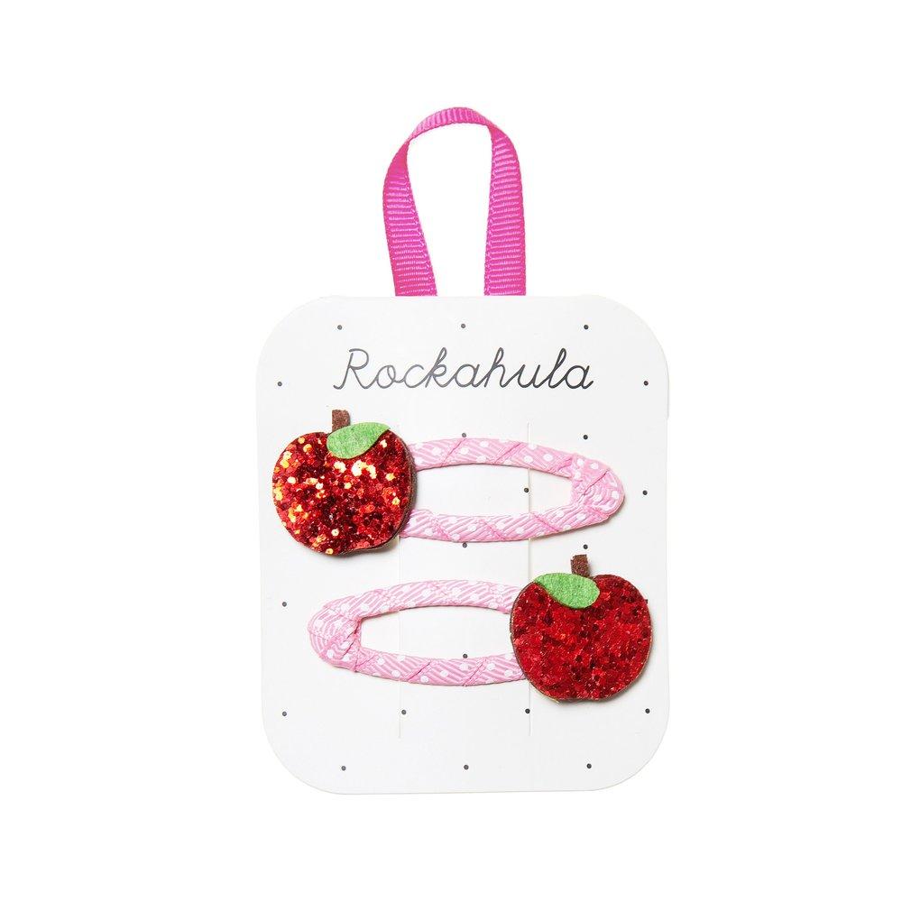 Rockahula - Apple Glitter Haarspangen