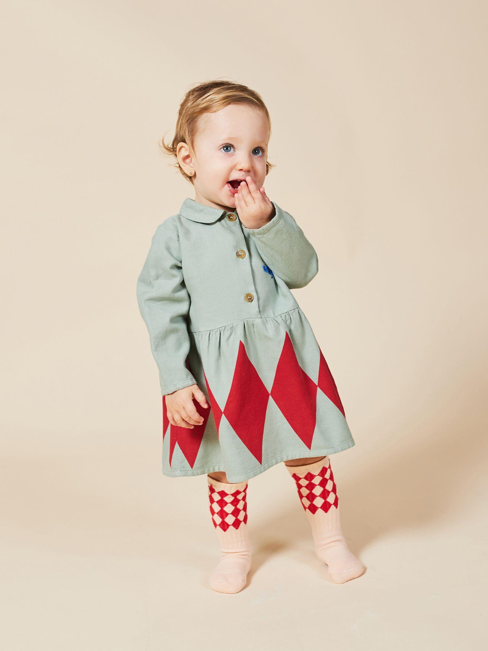 Bobo Choses - Baby Diamonds Princess Dress