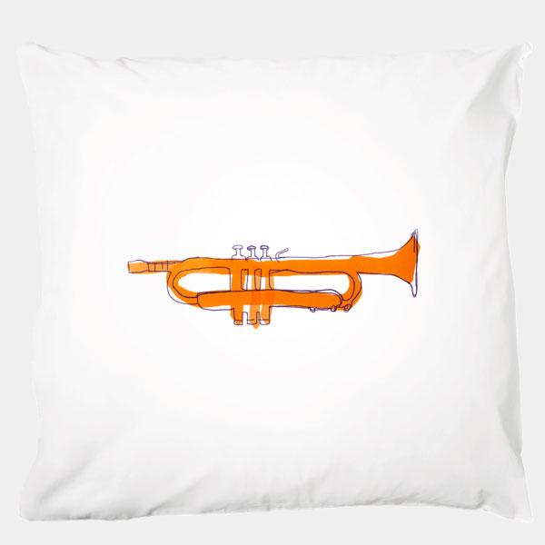 Katha covers - Kissenbezug Tiny Trumpet 80x80 cm