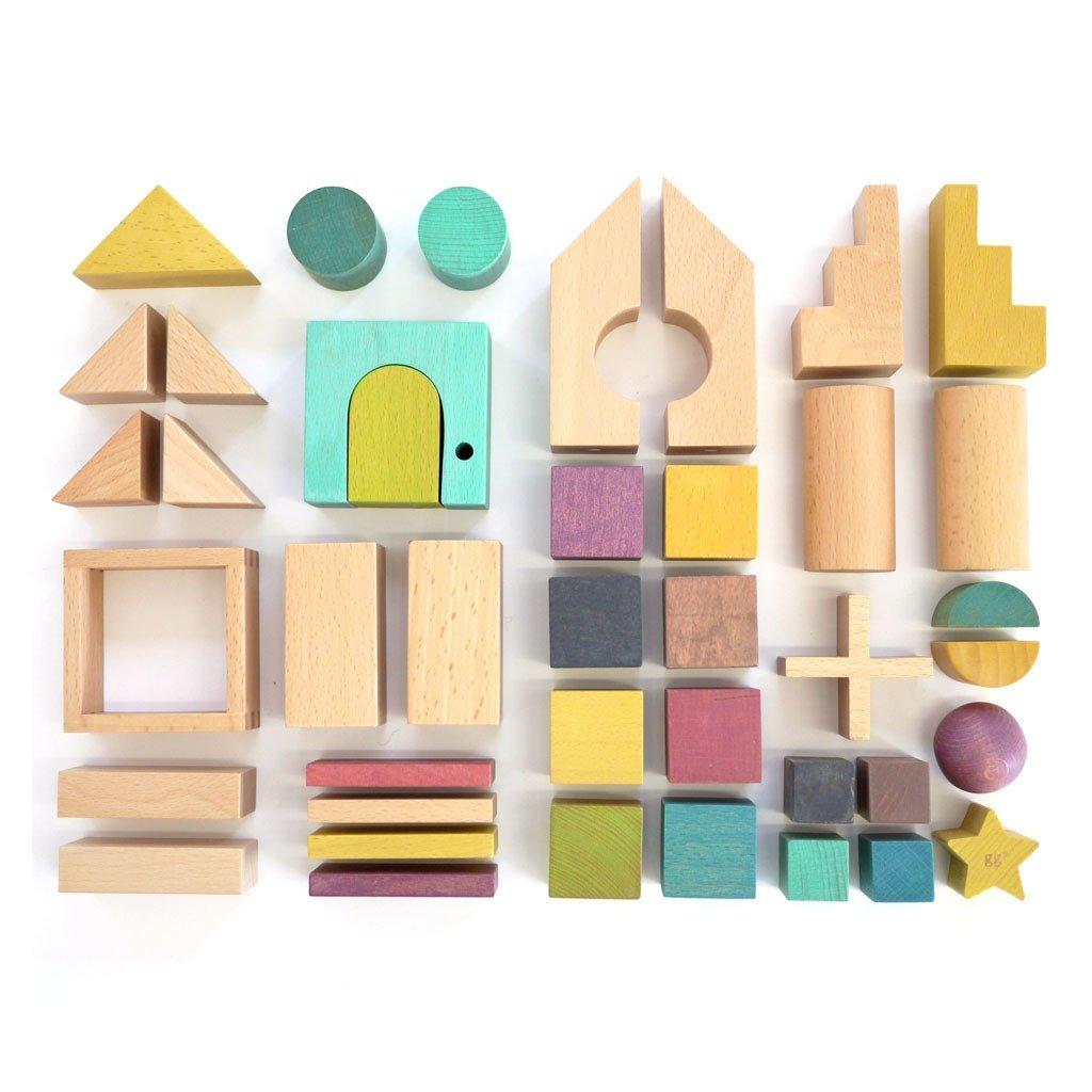 kiko+ & gg* - Tsumiki Holzbausteine Haus