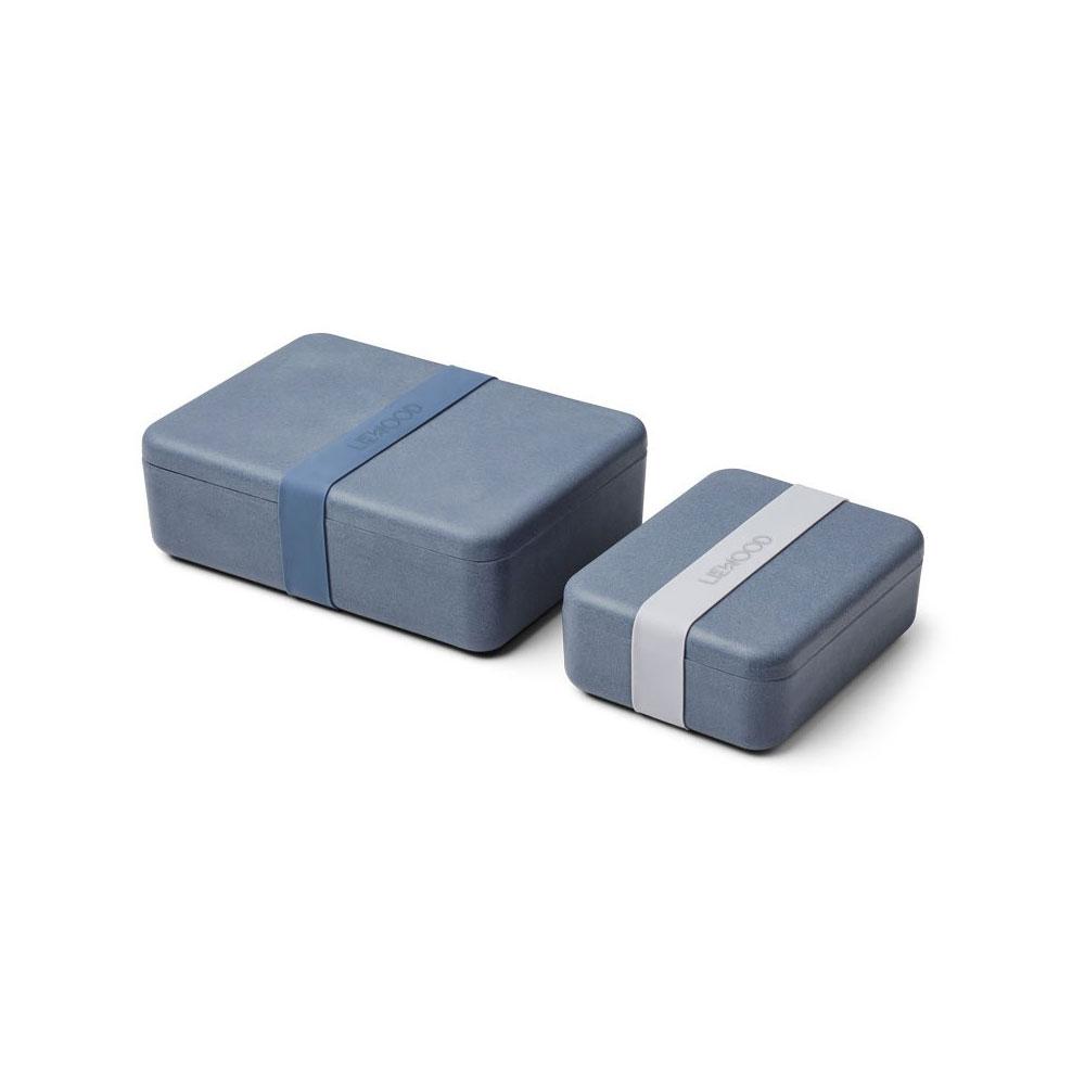 Liewood – Bradley Lunchbox Set Blue wave