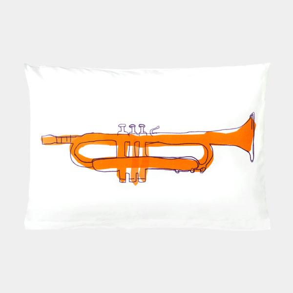 Katha covers - Kissenbezug Tiny Trumpet 60x40 cm