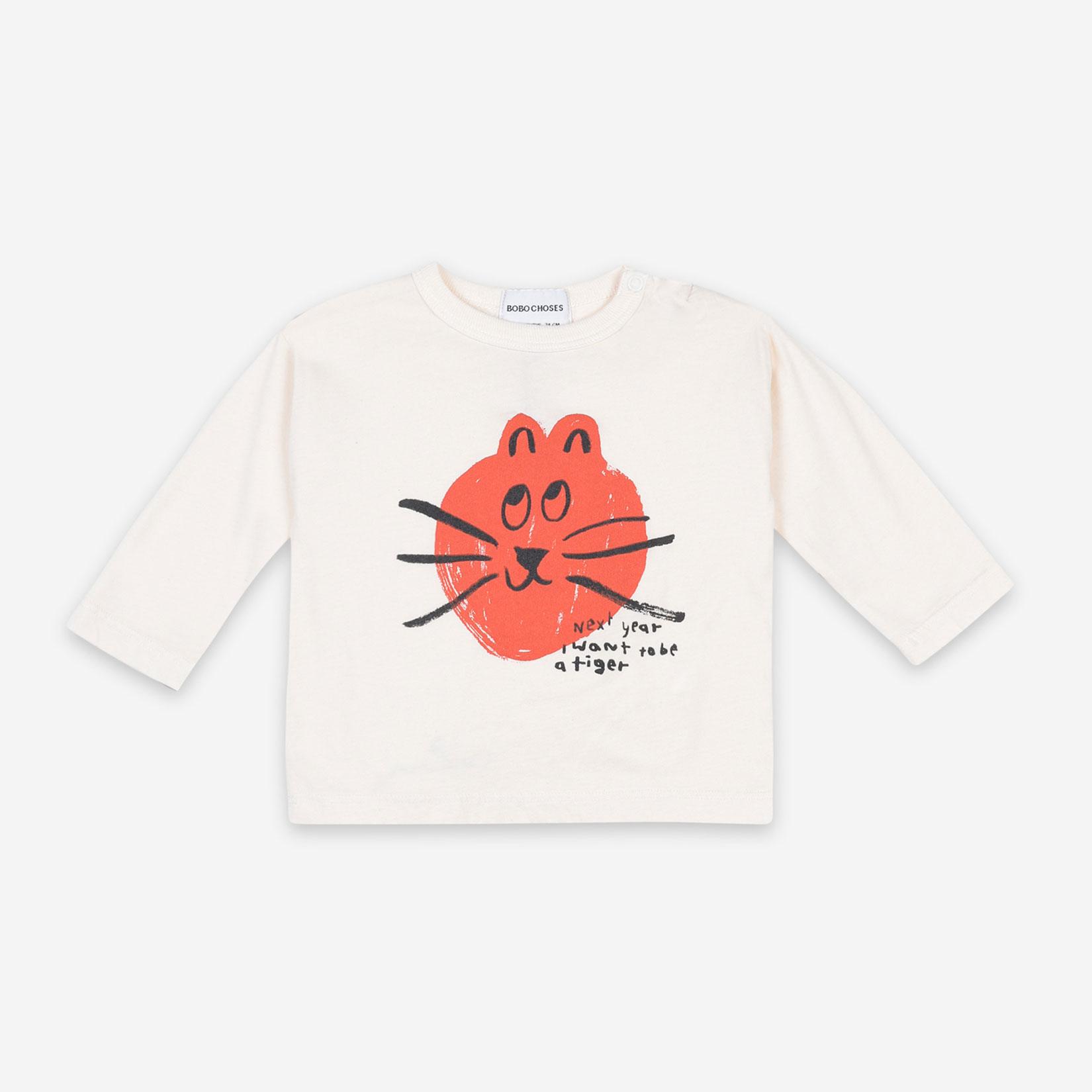Bobo Choses - Cat long sleeve T-shirt