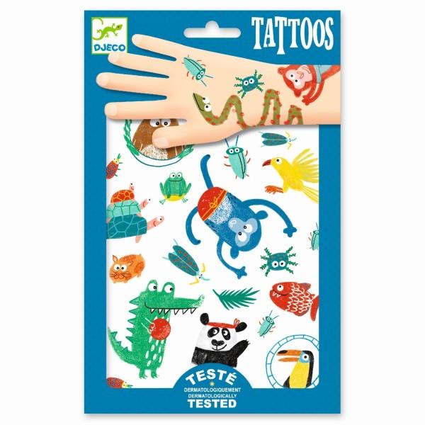 Djeco - Tattoo Tiere