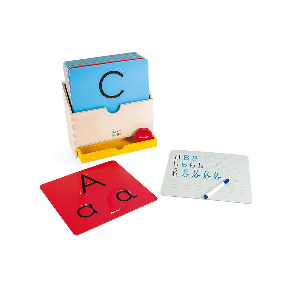 Janod - Schreibspiel Buchstaben