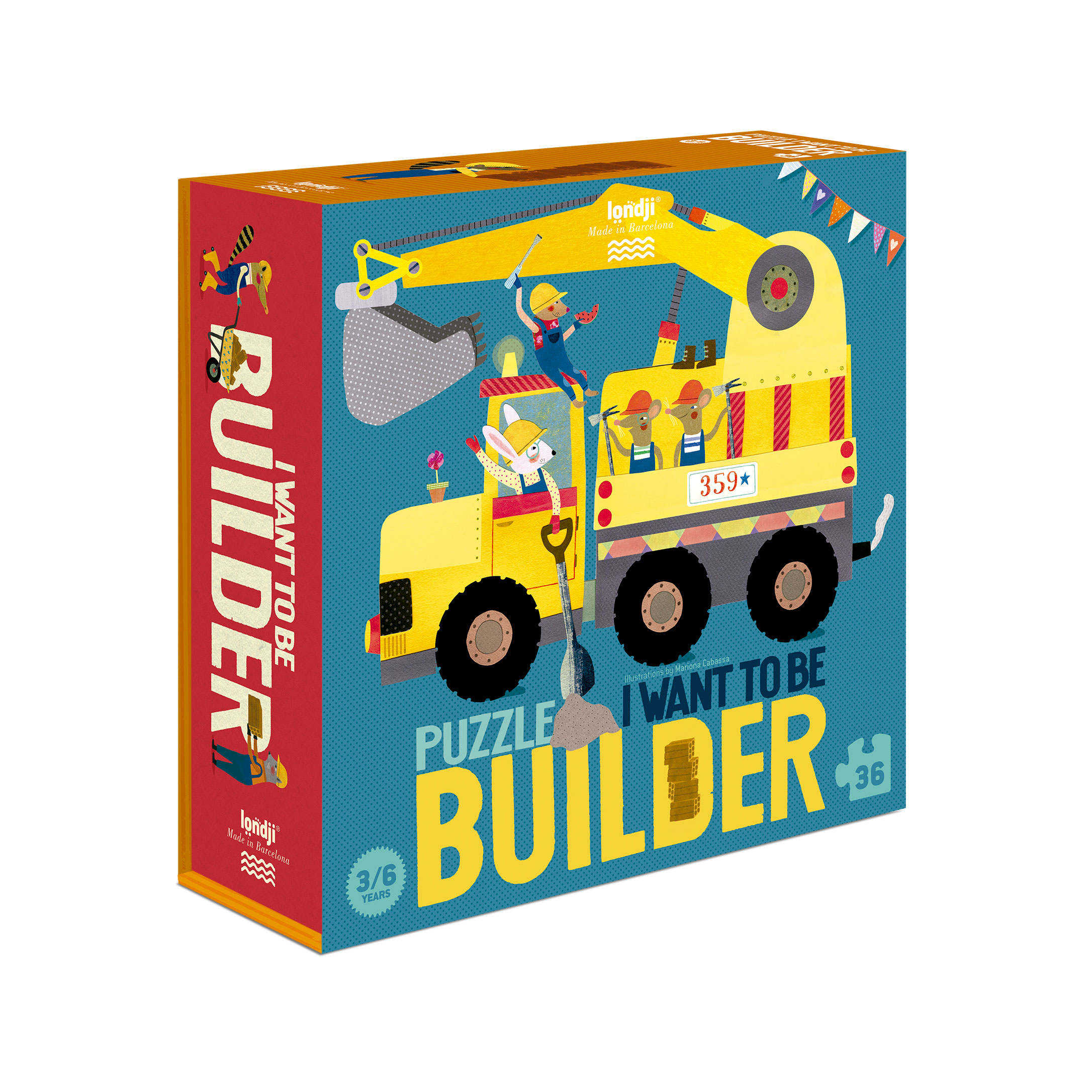 Londji - I want to be ... Builder Puzzle
