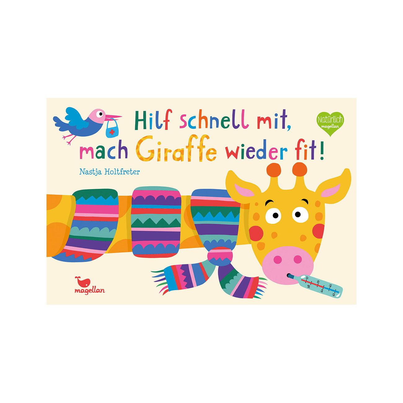 Hilf schnell mit, mach Giraffe wieder fit! ab 2J.