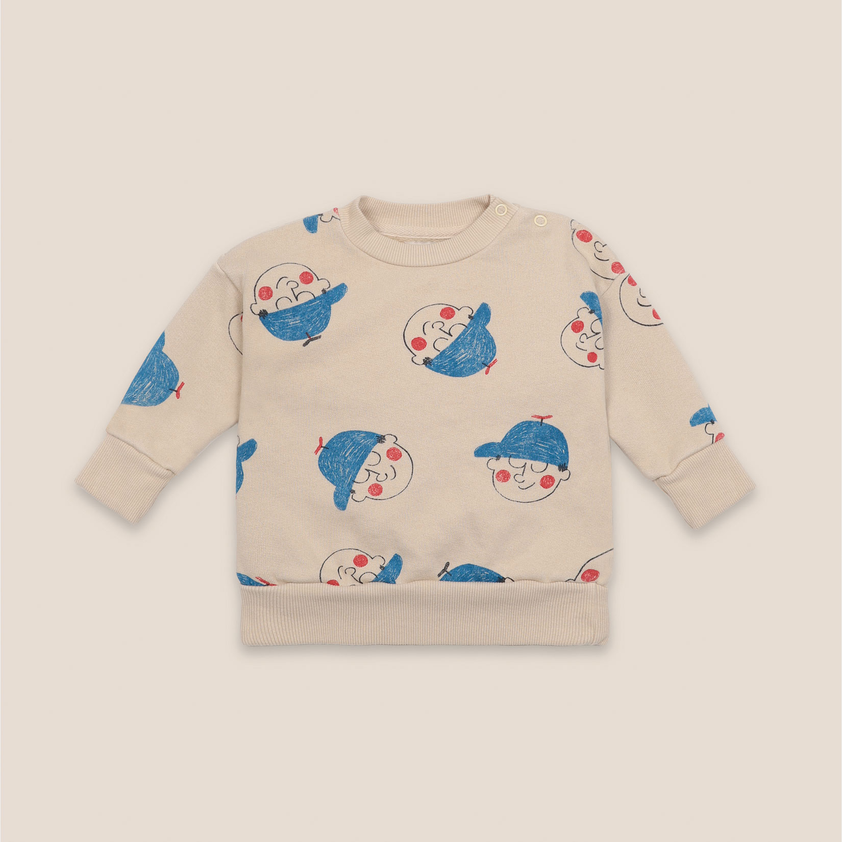 Bobo Choses - Baby Boy All Over Sweatshirt