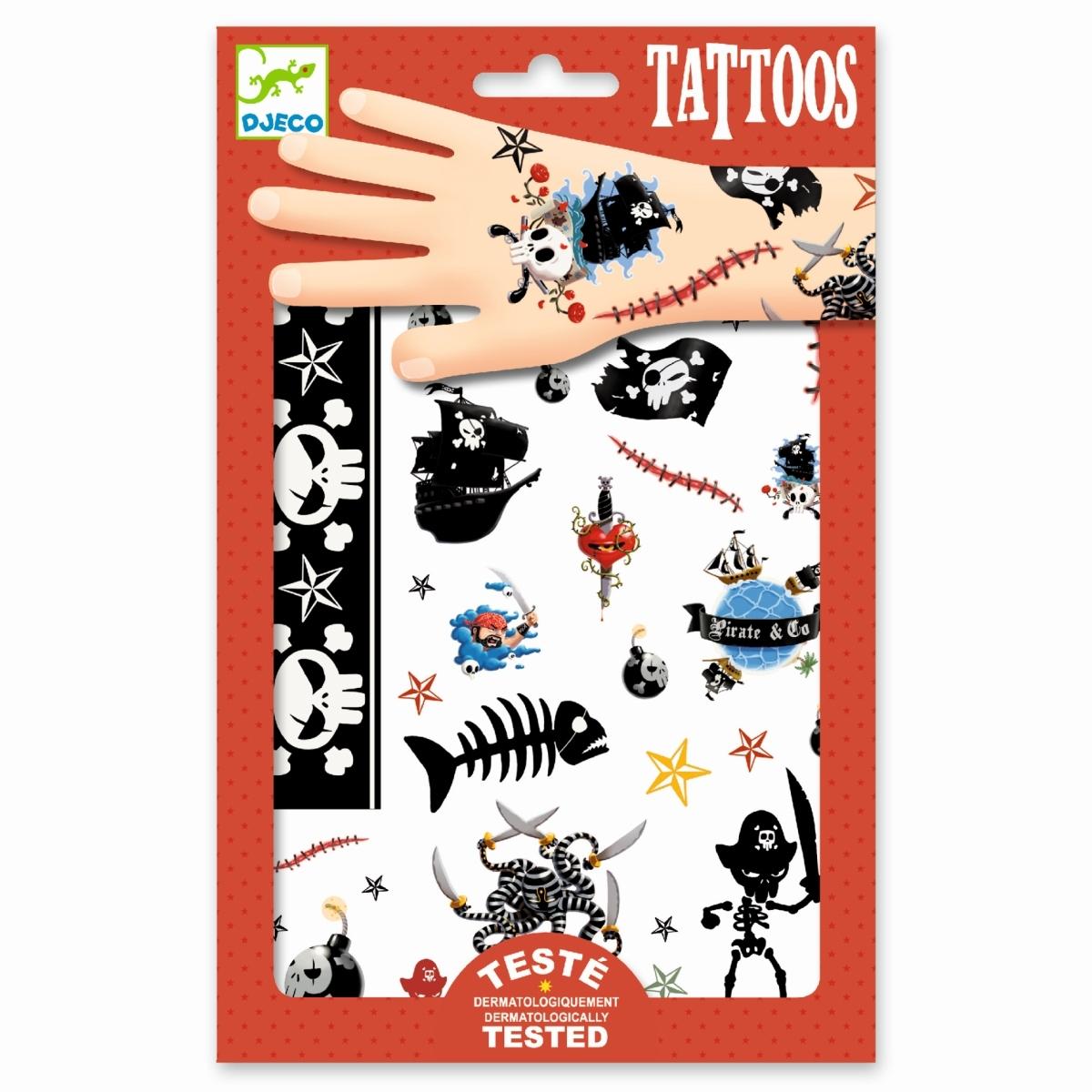 Djeco - Tattoo Piraten