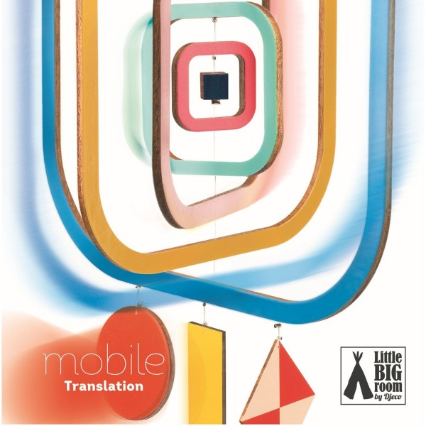 Djeco - Holz Mobile Translation