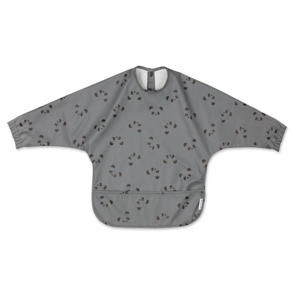 Liewood - Merle Cape Bib Panda stone grey