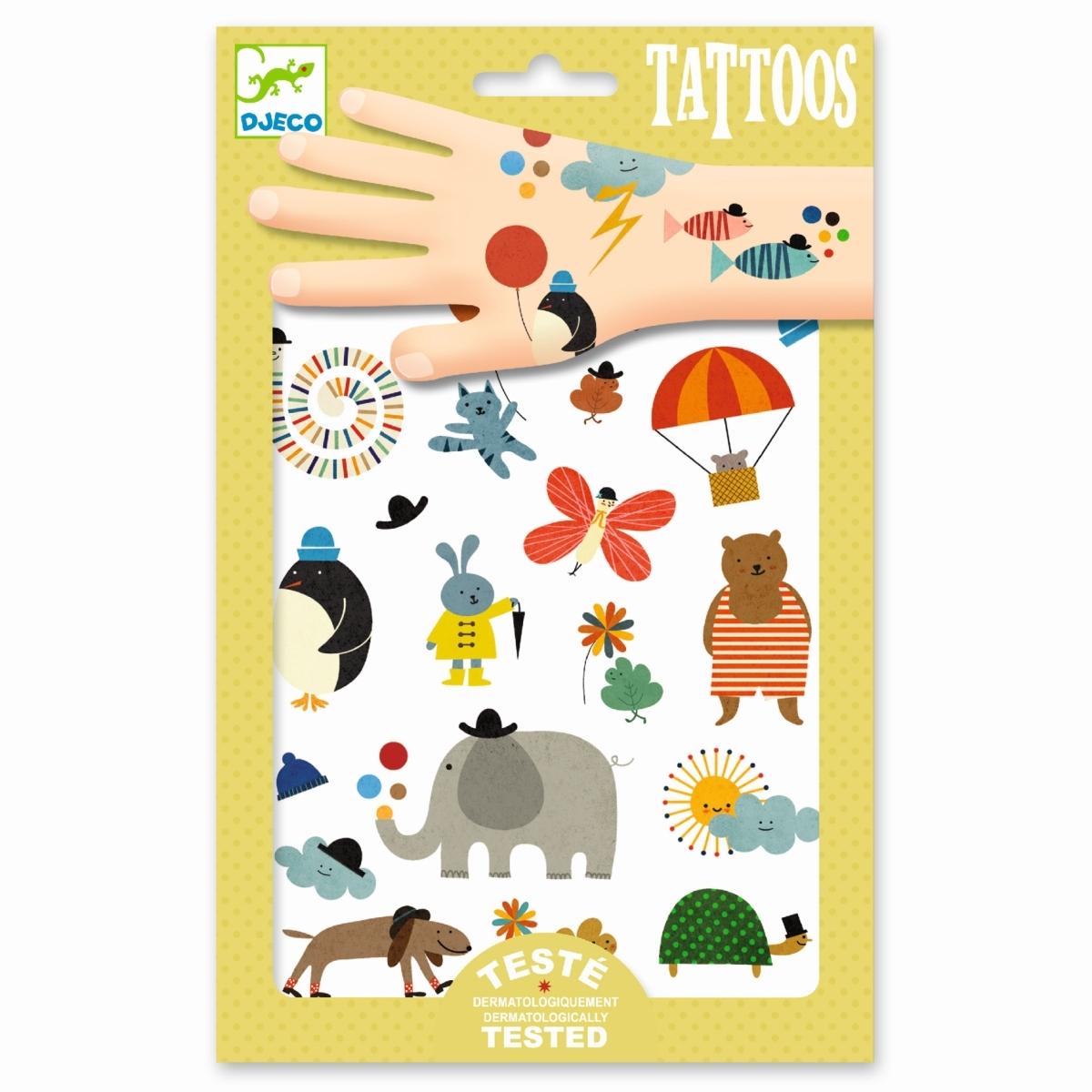 Djeco - Tattoos Süße Kleinigkeiten