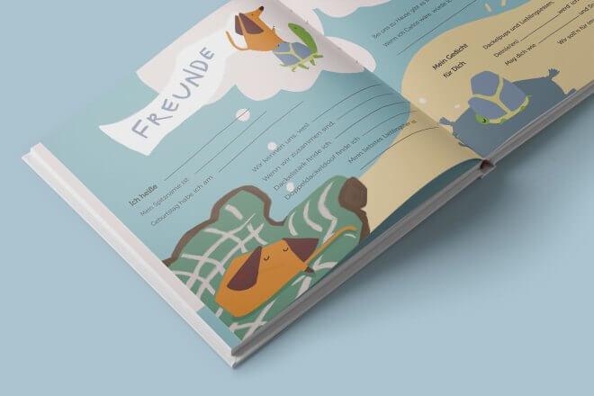 Buchfink Verlag - Carlos Freundebuch