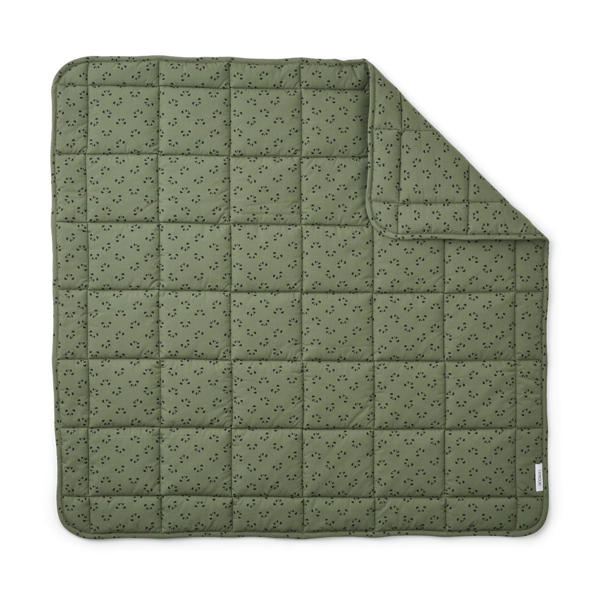 Liewood - Ebbe Babydecke Hunter Green