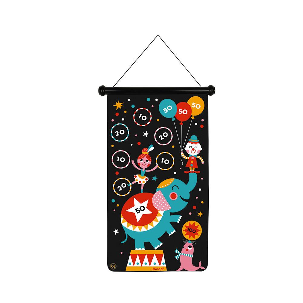 Janod - Magnetisches Dartspiel Zirkus
