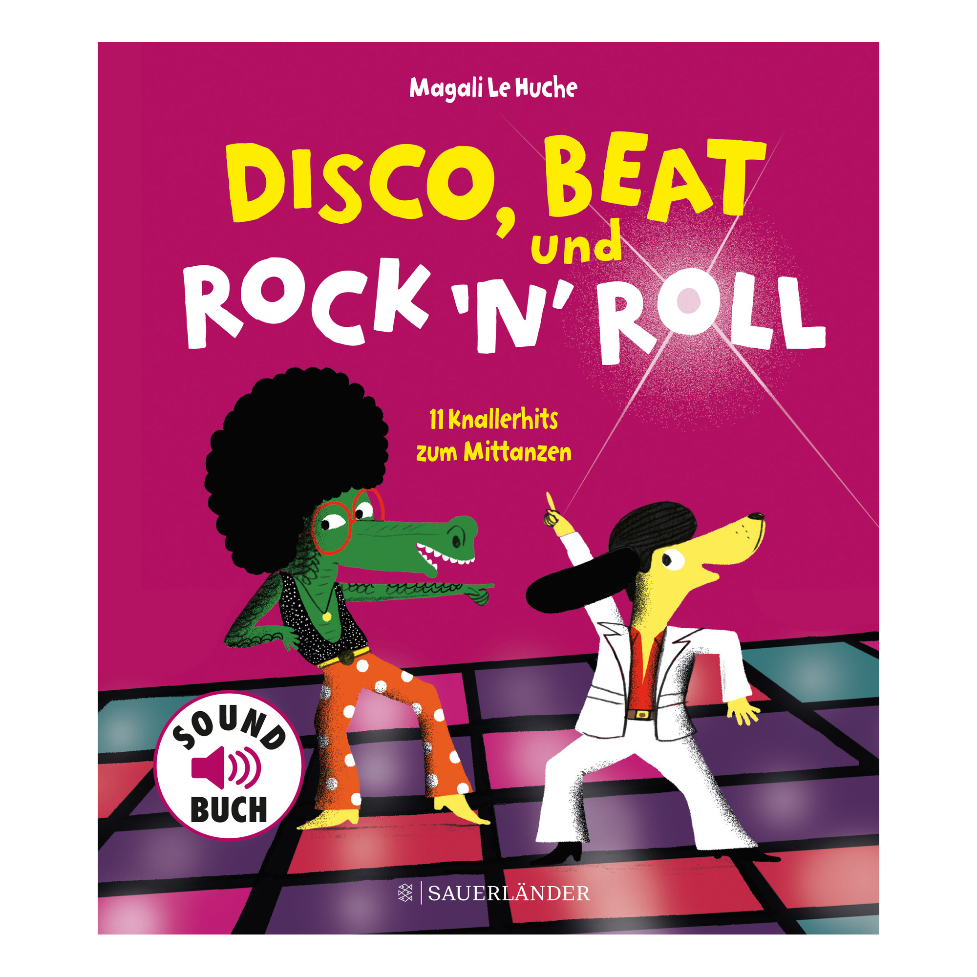 Disco, Beat und Rock'n'Roll ab 3J.