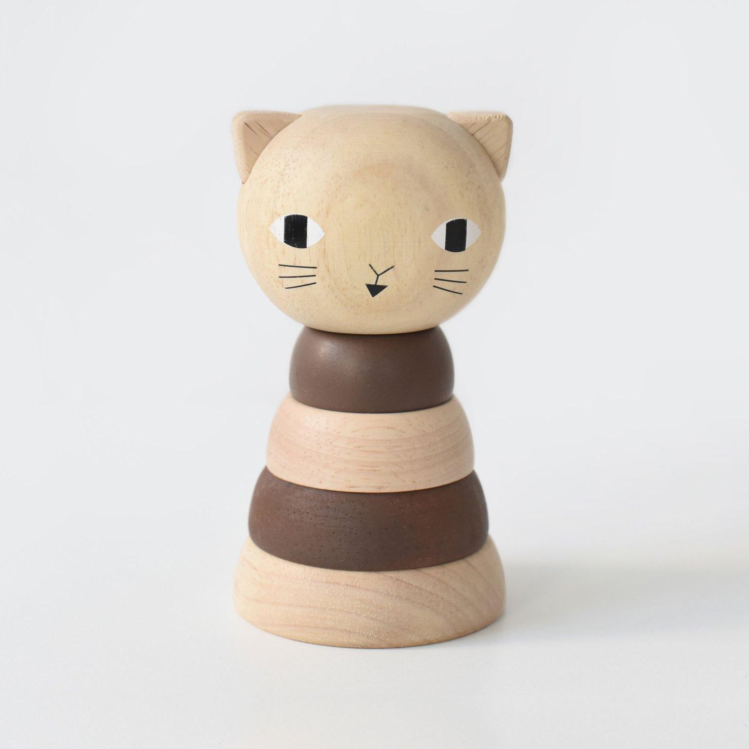 Wee Gallery - Steckspiel Katze