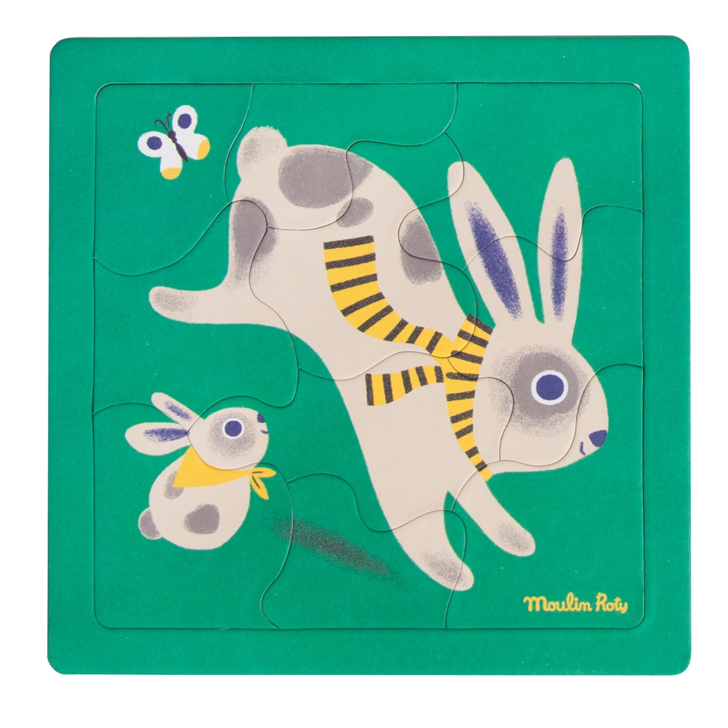 Moulin Roty - Puzzle Les Bambins Hase