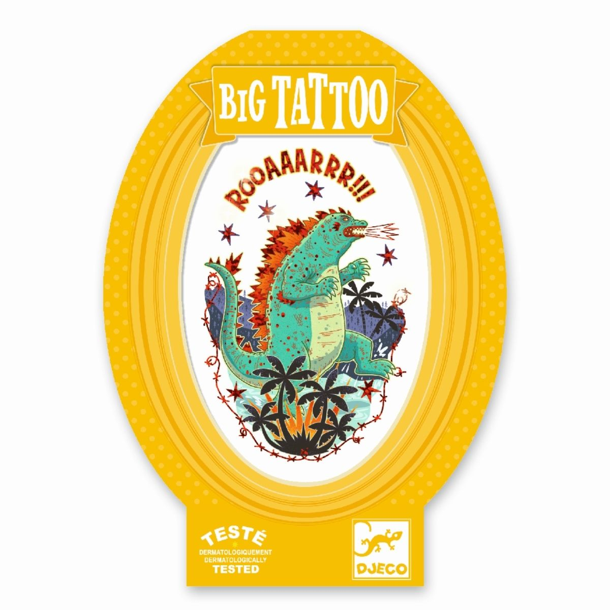 Djeco - Big Tattoo Godzilla